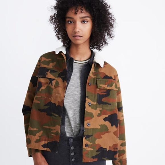 Madewell Jackets & Blazers - Madewell Northward Cropped Army Jacket